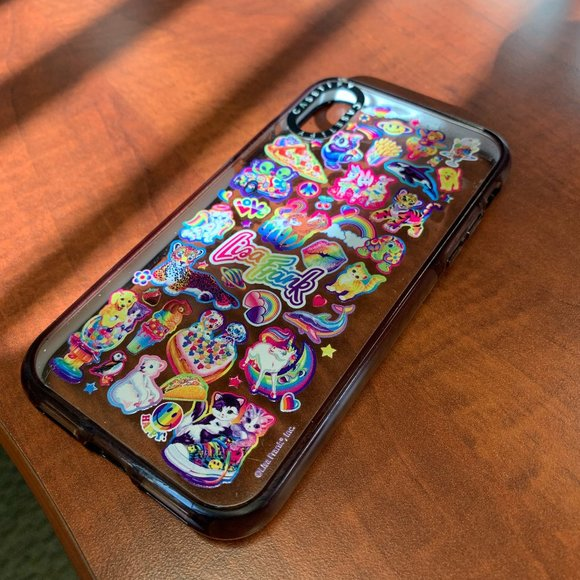 Casetify Lisa Frank Limited Edition iPhone X case
